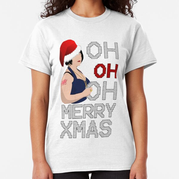Christmas Ness Oh Oh Oh Merry Xmas Christmas Classic T-Shirt