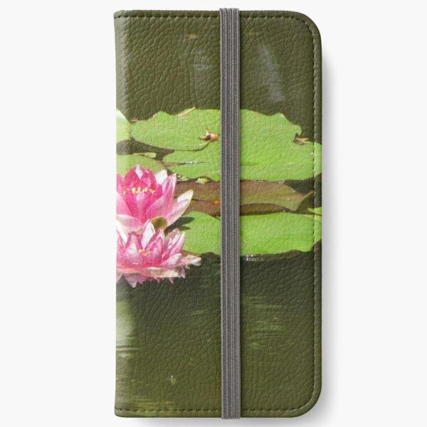 Wonderful Water Lilies iPhone Wallet