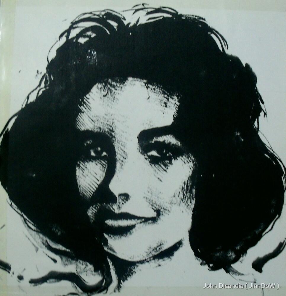DAME ELIZABETH TAYLOR  1932-2011  by John Dicandia ( JinnDoW )