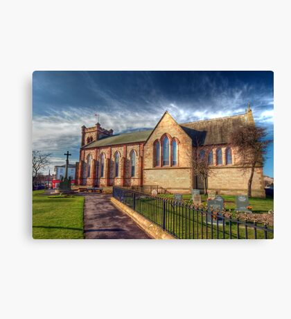 St Peter's Church Fleetwood - HDR Canvas Print