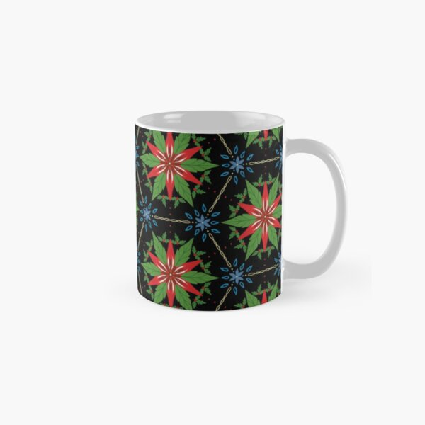 Christmas Kaleidoscope Classic Mug