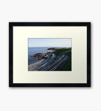 Seawall Framed Print