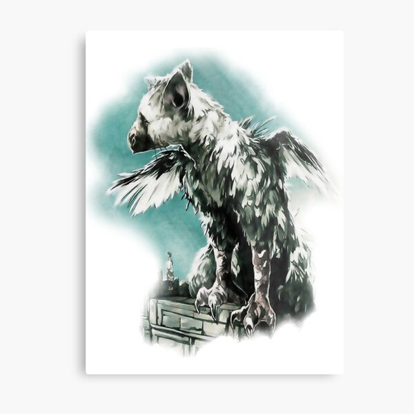 The Last Guardian - Vinyl Art Metal Print