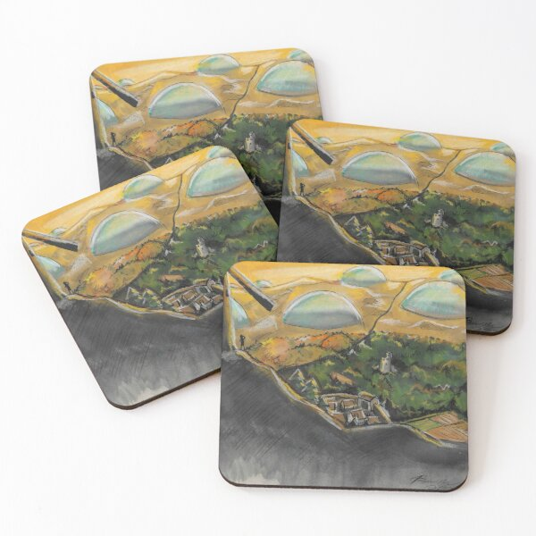The End Coasters (Set of 4)