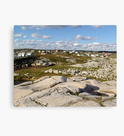 Peggy's Cove-A Different View Canvas Print