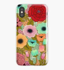 Gouache Garden iPhone Case/Skin