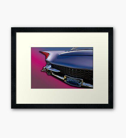 "1955 Ford ""Beatnik Bubbletop"" Custom Framed Print"