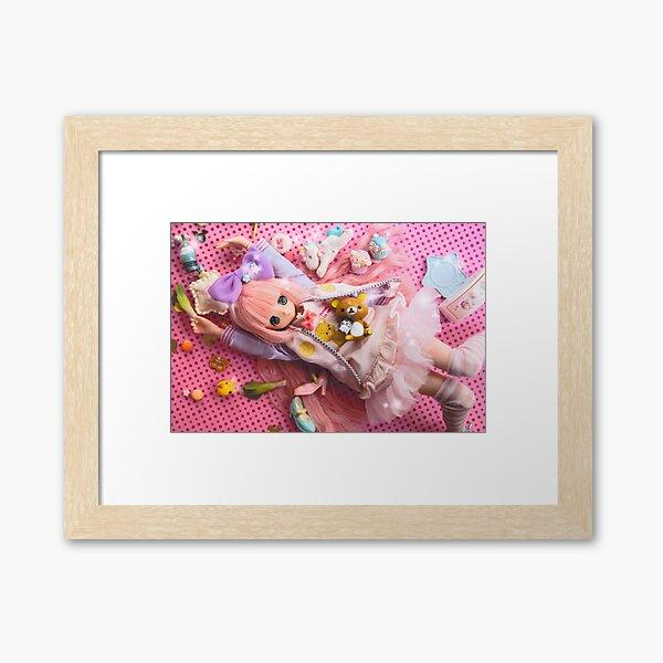 Fairy Kei heaven · Lily Framed Art Print