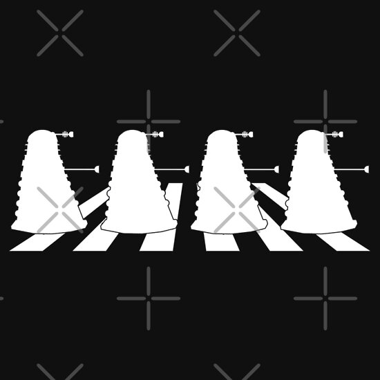 TShirtGifter presents: Daleks in Abbey Road