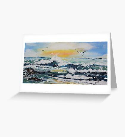Maroochydore sunrise Greeting Card