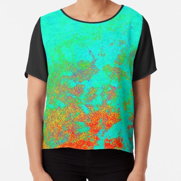 Cosmic Microwave Background Radiation (CMBR) Effect Chiffon Top