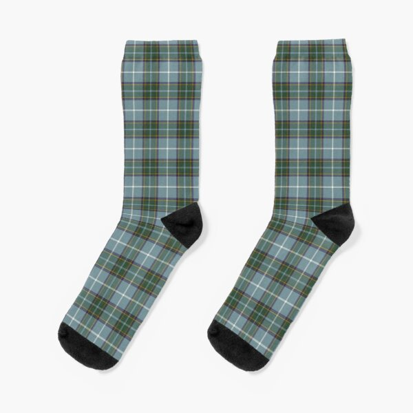 Isle of Man Manx District Tartan Socks