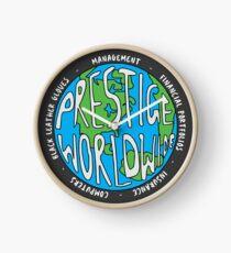 Step Brothers   Prestige Worldwide Enterprise   The First Word In Entertainment   Original Design Clock