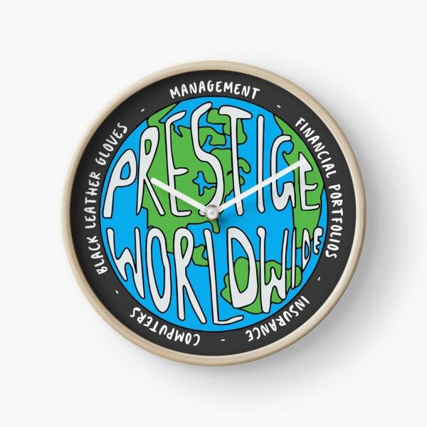 Step Brothers | Prestige Worldwide Enterprise | The First Word In Entertainment | Original Design Clock
