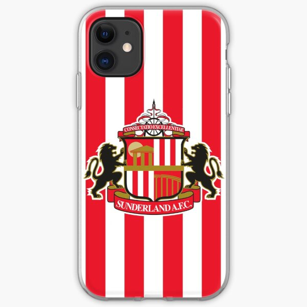 Sunderland AFC logo iPhone Soft Case