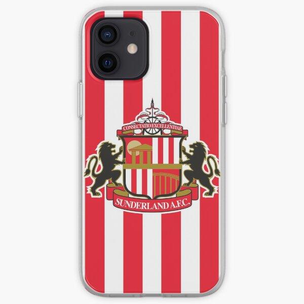 Sunderland AFC logo iPhone Soft Case