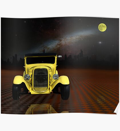 """1929 Ford Model A """"Hot Rod"""" Poster"""