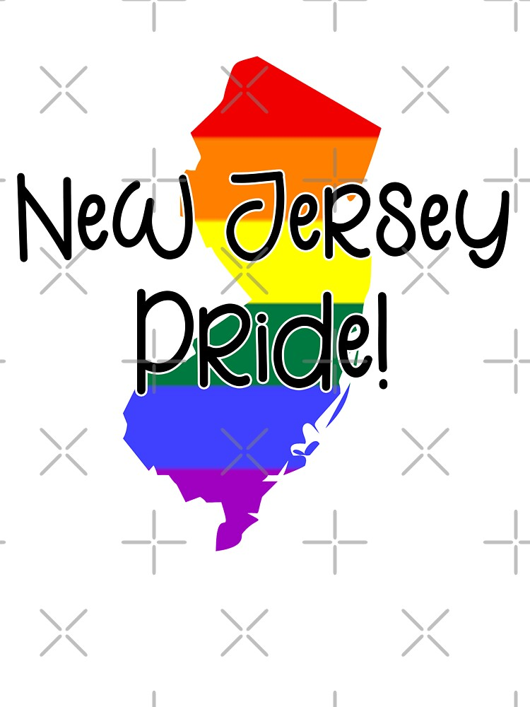 New Jersey Gay Pride   Baby One-Piece