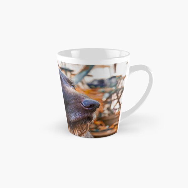 German Wirehaired Pointer Portrait Tall Mug