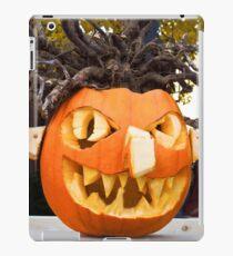 Scary Jack-O-Lantern iPad Case/Skin