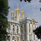 St Catherine's Palace St Petersburgh Russia by mikequigley