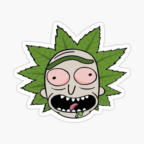 rick high Sticker