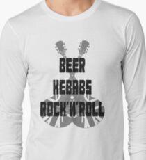 Beer Kebabs Rock'n'roll Long Sleeve T-Shirt