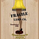 Fragile Lamp Co by Marianne Paluso