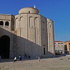Church of St Donat, Zadar, Croatia by Margaret  Hyde