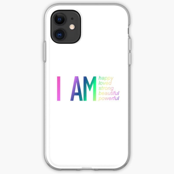I am powerful, self-love iPhone Soft Case