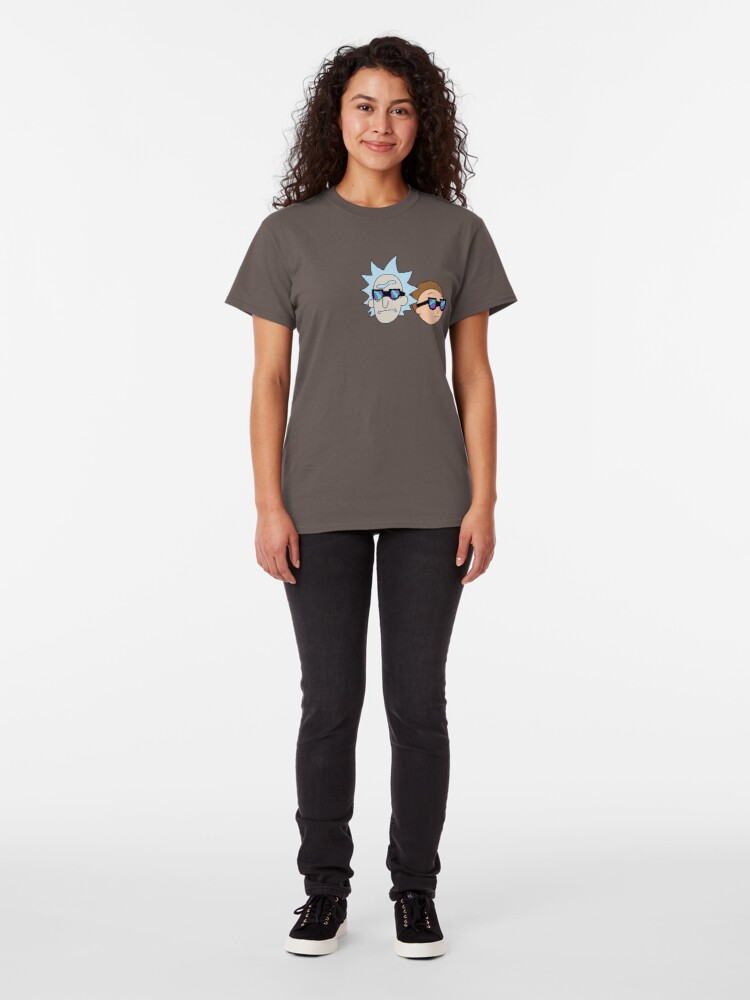 Alternate view of Rick and Morty  Classic T-Shirt