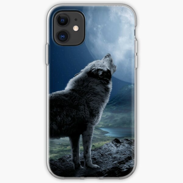 Howling Wolf iPhone Flexible Hülle