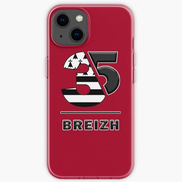 Bretagne Ille-et-Vilaine 35 Breizh Coque souple iPhone