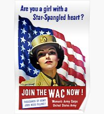 Join The WAC Now -- Army Recruiting Poster