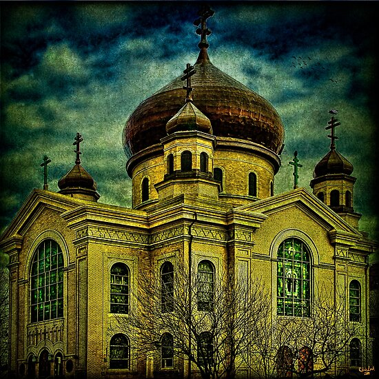 Russian Orthodox Cathedral, Williamsburg, Brooklyn by Chris Lord