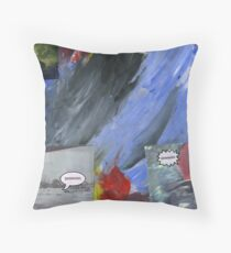 Cold Comment Throw Pillow