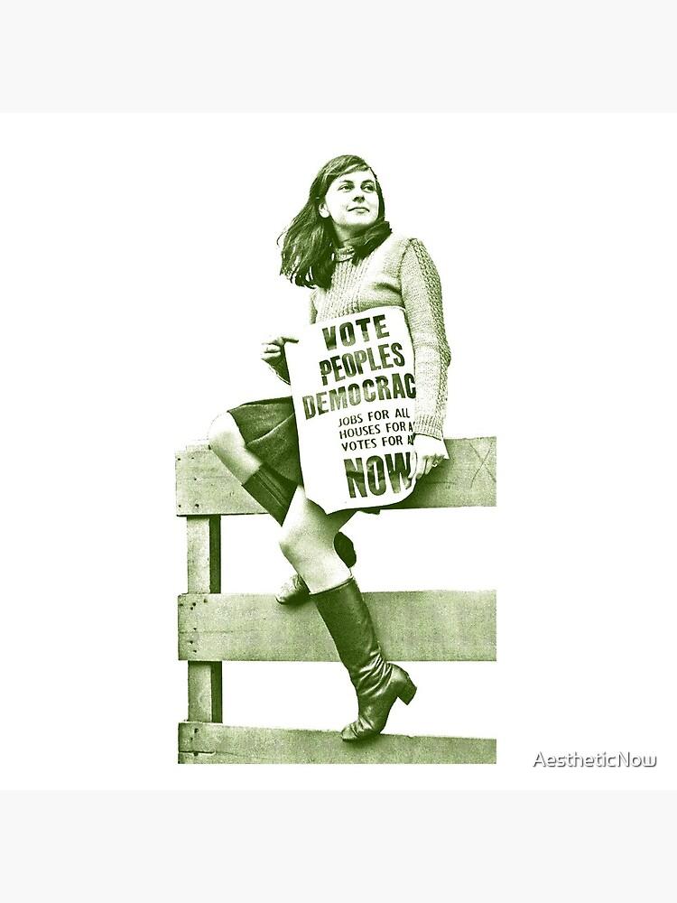 Bernadette Devlin / Retro Irish Fanart  by AestheticNow