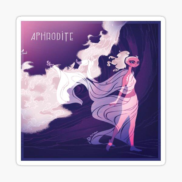 Aphrodite of the Sea Sticker