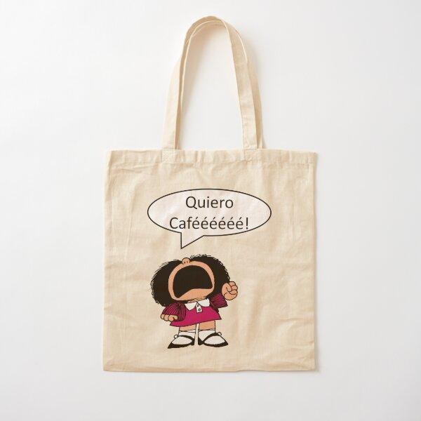 Mafalda, Café, Coffee Bolsa de algodón