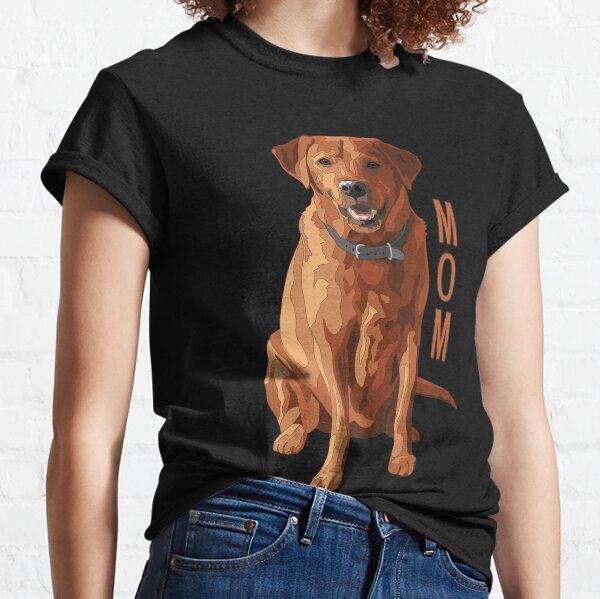 Lab Mom Fox Red Labrador Retriever Dog Classic T-Shirt