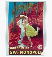 Leonetto Cappiello Affiche Source Reine Poster