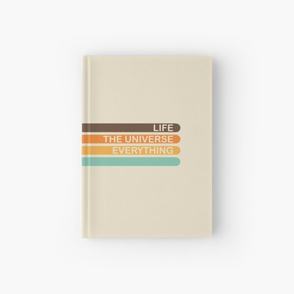 The Meaning of Life Hardcover Journal