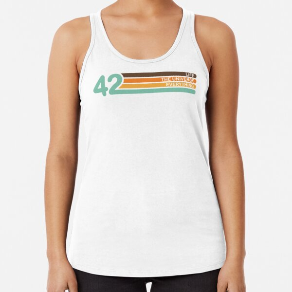 The Meaning of Life Racerback Tank Top