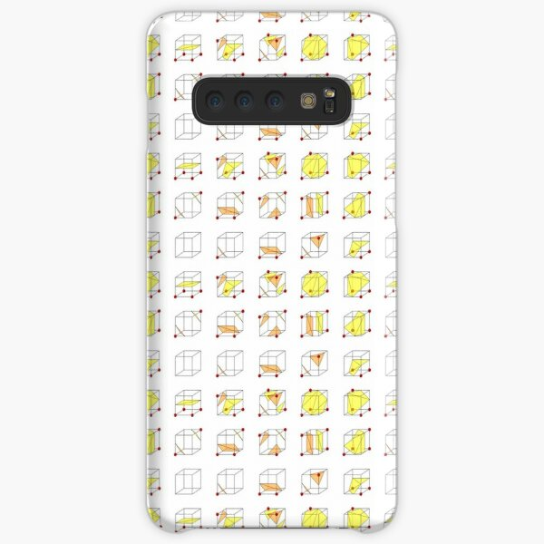 Cube Marching Samsung Galaxy Snap Case