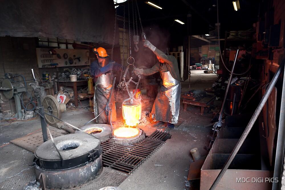 Non ferrous foundry Spotswood by MDC DiGi PiCS