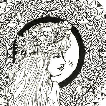 Mandala Girl by Gambargombor