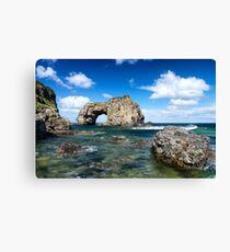 Great Pollet Arch Canvas Print