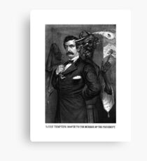 Satan Tempting John Wilkes Booth Canvas Print