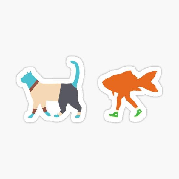 Gumball et Darwin Sticker