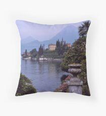 Villa Monastero, Varenna, Lake Como, Italy. Throw Pillow